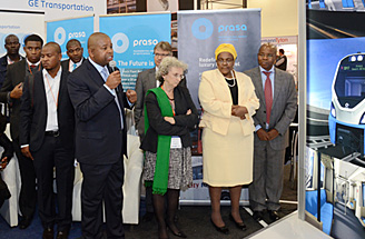 Africa rail exhibition [photo]